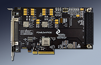 8 lane PCIe to VPX 3U adapter in mid size PCIe card