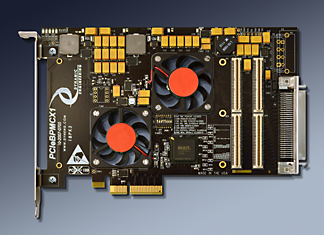 PCIe to PMC adapter in 1/2 size PCIe card